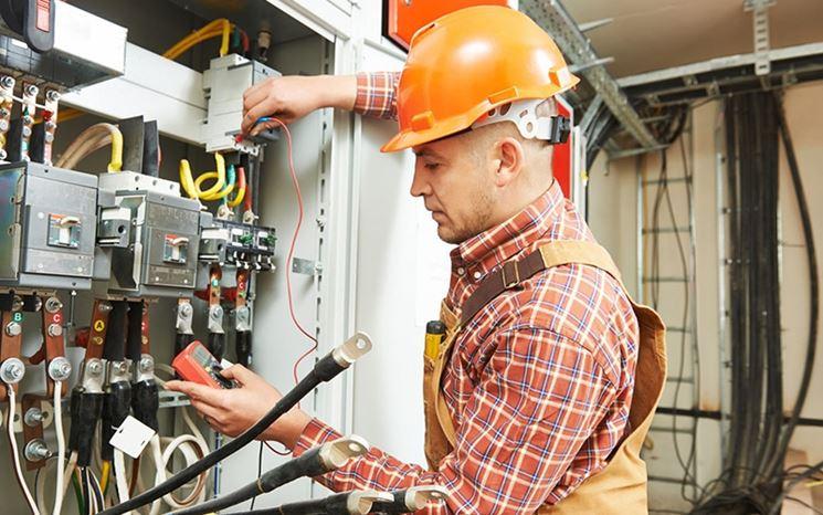 Controllo impianto di corrente