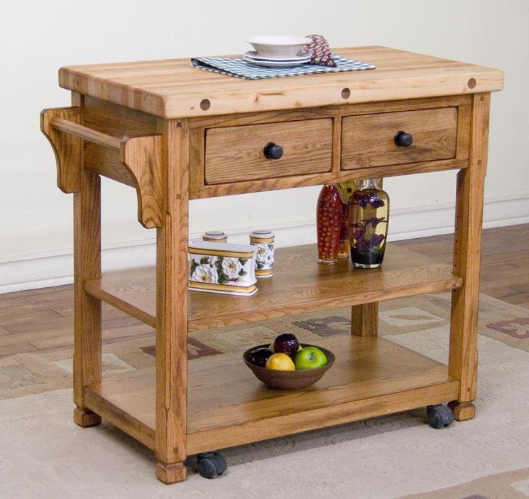 Carrelli da cucina piani cucina attrezzatura cucina - Piani da cucina ...