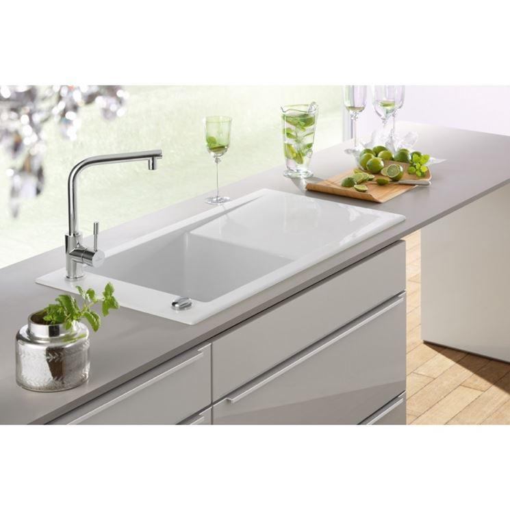 dimensioni lavelli - piani cucina - consigli e misure per ... - Dimensioni Lavelli Cucina