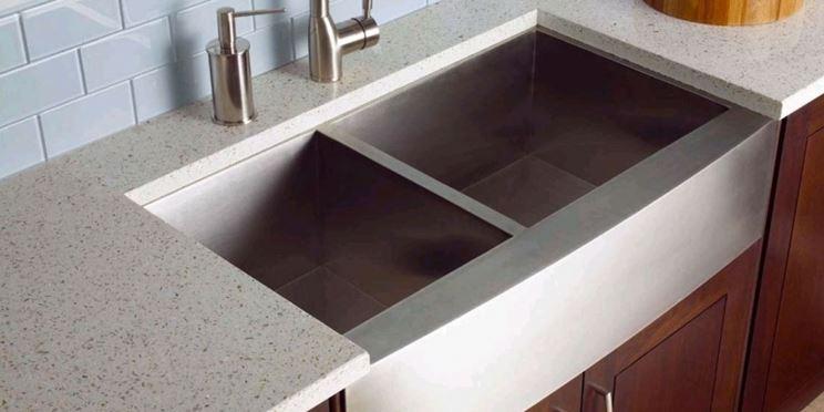 Il lavabo da appoggio - Piani cucina - Lavello cucina