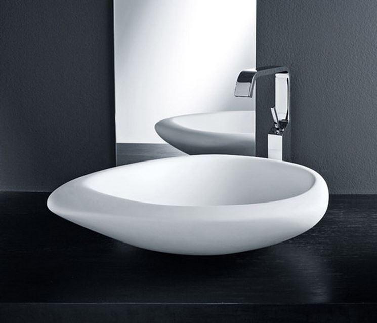 Lavabo da appoggio piani cucina - Mobile lavabo cucina ...