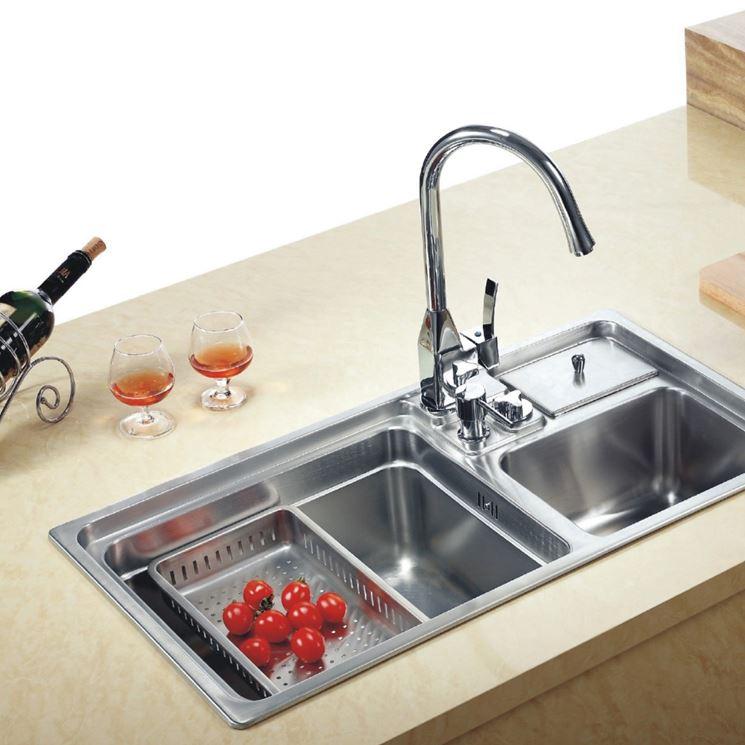 Lavelli cucina piani cucina tipologie di lavelli cucina for Lavelli cucina inox