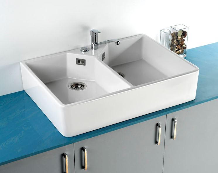 Lavelli cucina piani cucina tipologie di lavelli cucina - Lavelli da incasso per cucina ...