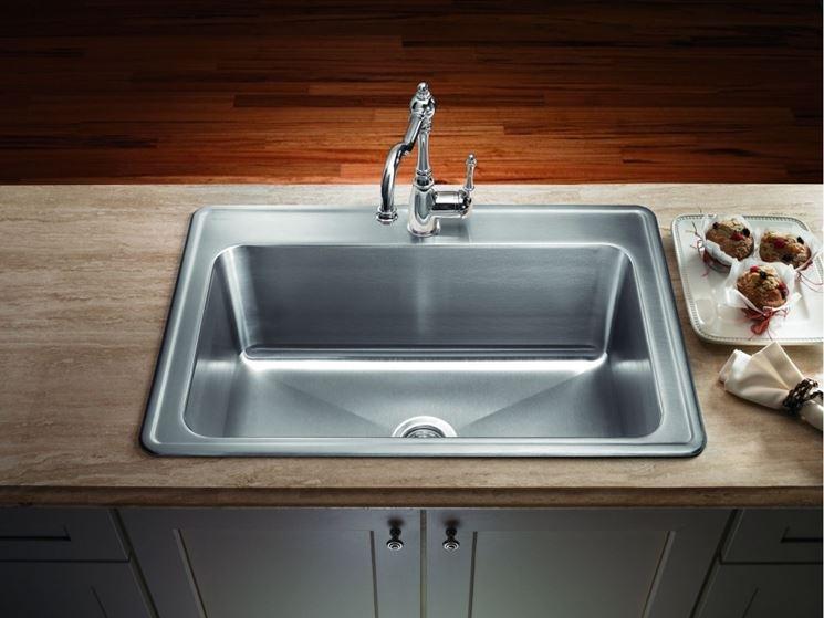 lavello acciaio una vasca