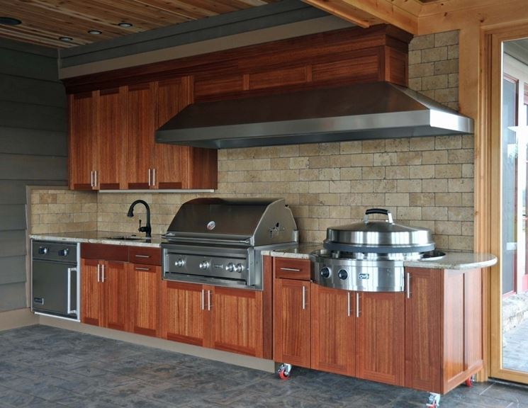Fornelli cucina acciaio