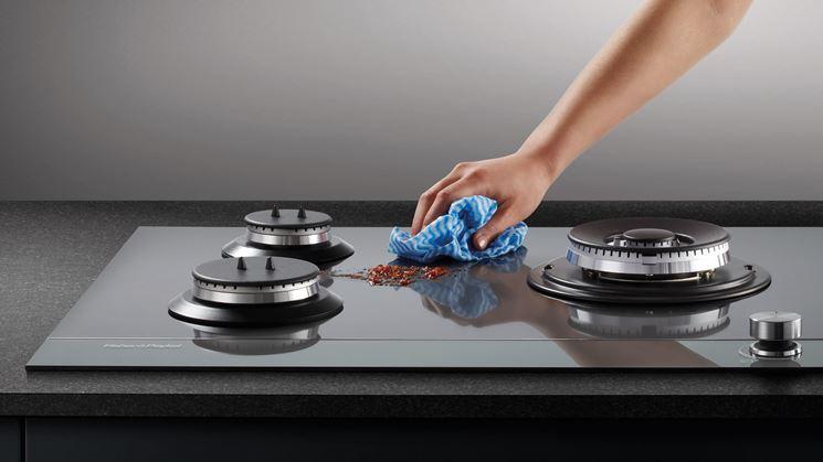 Piani cottura vetroceramica a gas piani cucina - Manutenzione cucina a gas ...