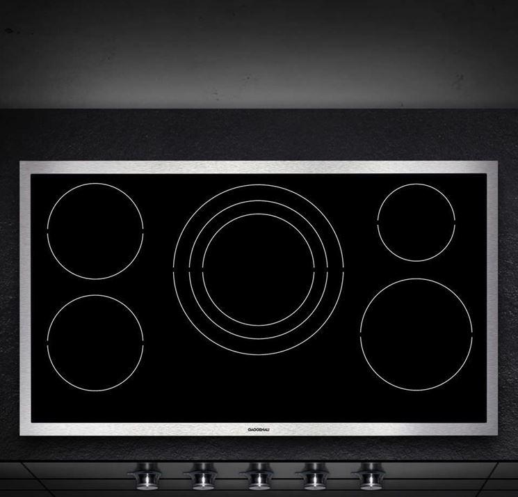 piano cottura in vetroceramica piani cucina. Black Bedroom Furniture Sets. Home Design Ideas