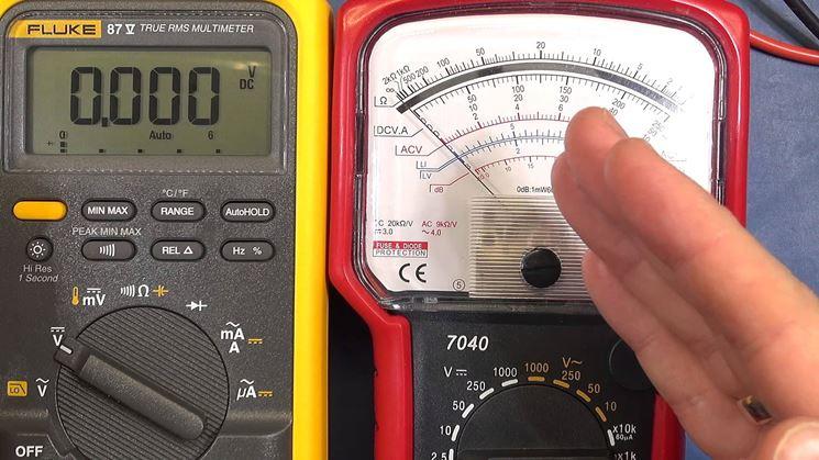 Tester analogico e digitale