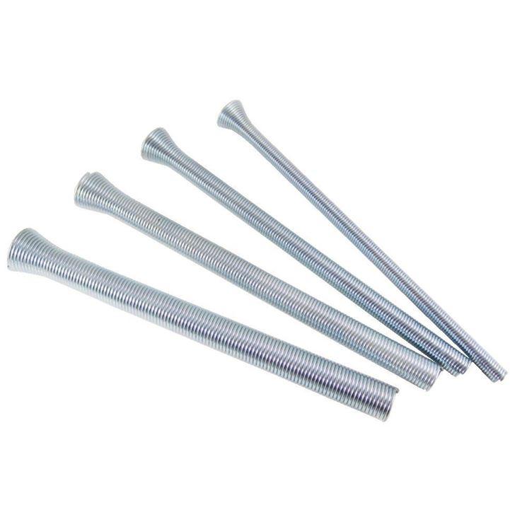 Le molle piegatubi in acciaio per i tubi di lieve spessore