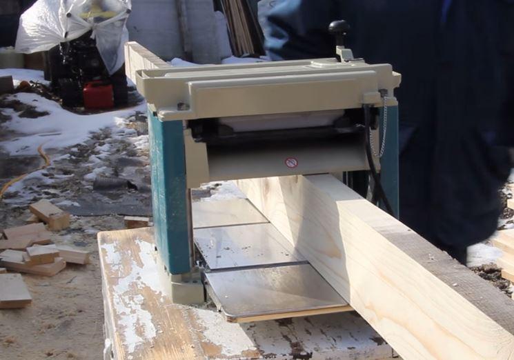 Piallatura del legno