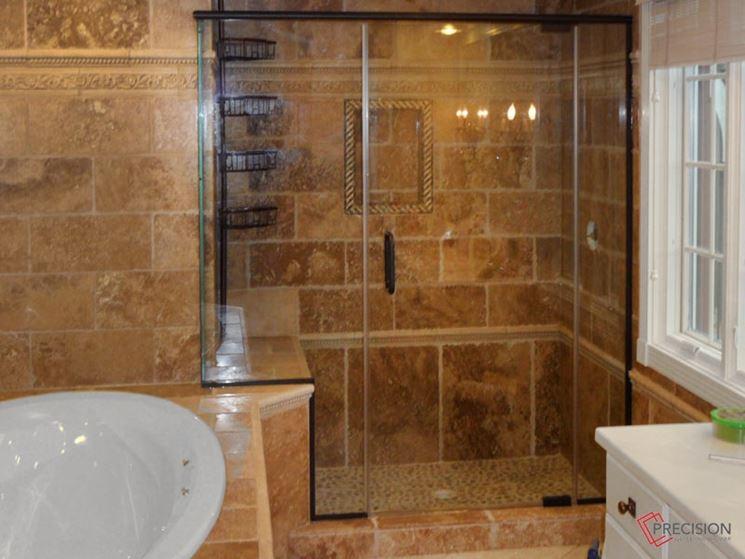 box doccia multifunzione in vetro