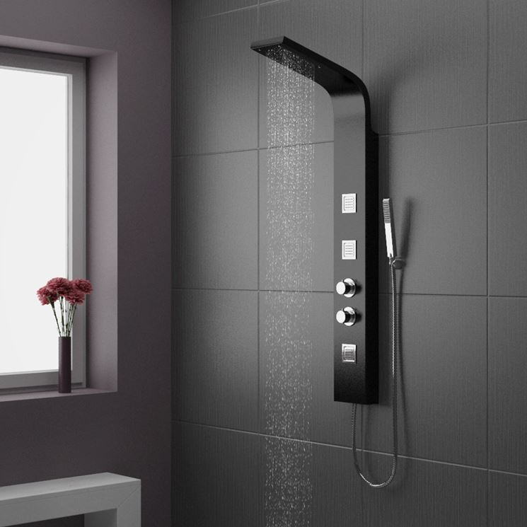 Elegante colonna doccia