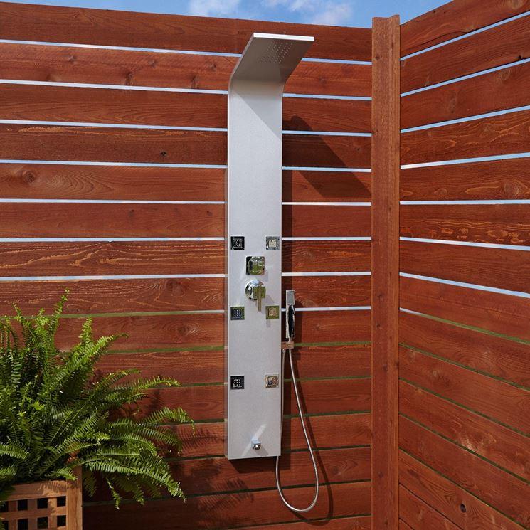 Colonna doccia esterno
