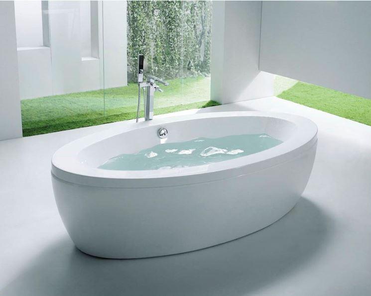 Vasca da bagno moderna