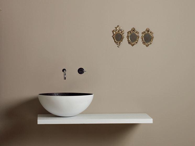 Lavabi d 39 arredo arredo bagno tipologie di lavabi d 39 arredo for La roccia arredo bagno