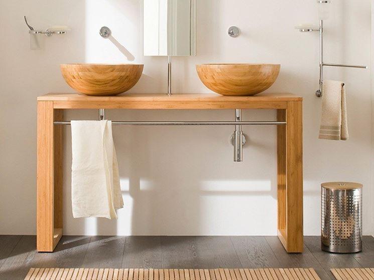 Lavabi in legno arredo bagno modelli di lavabo in legno for Como hacer lavabos