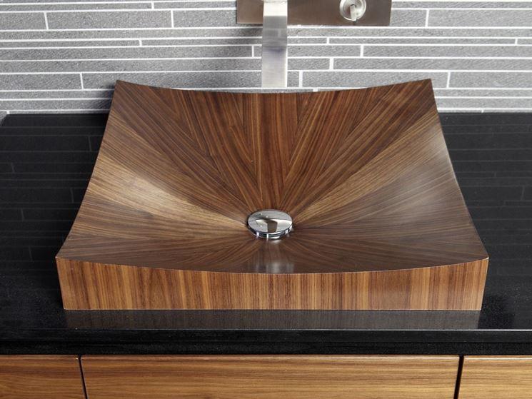 Lavabi in legno   arredo bagno   modelli di lavabo in legno