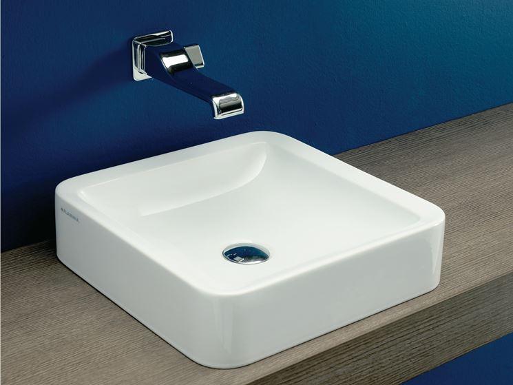 Modello di lavabo da appoggio