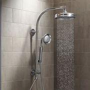 Colonna doccia con soffione rotondo
