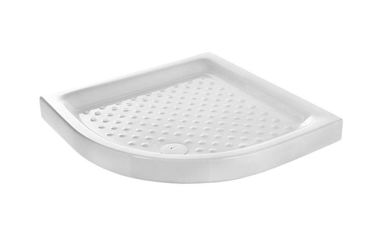 Bagno piatto doccia ceramica angolare