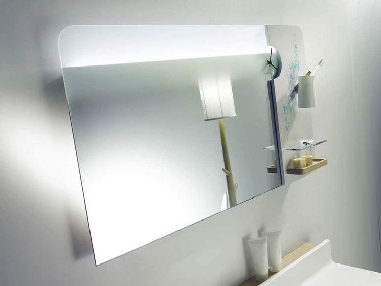 Esempio di specchio in bagno