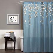 Tenda doccia con motivi floreali