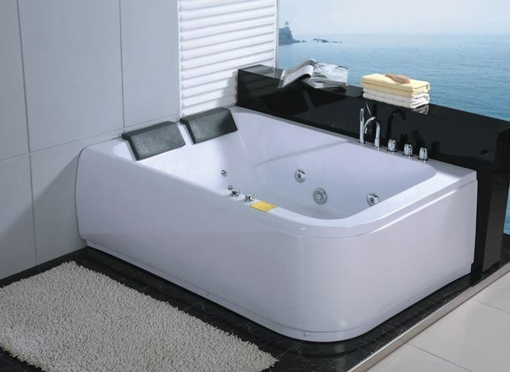 Vasca da bagno per due