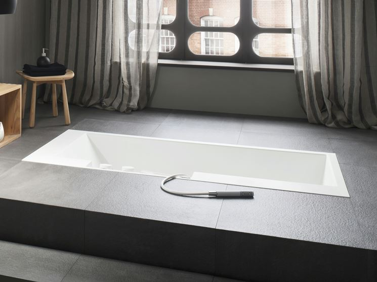 Vasche da bagno da incasso arredo bagno tipologie vasca - Vasche da bagno particolari ...