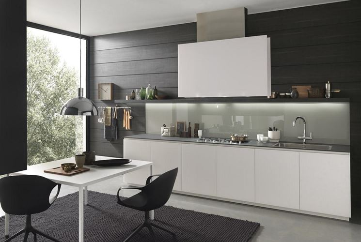 Cucina moderna in laminato
