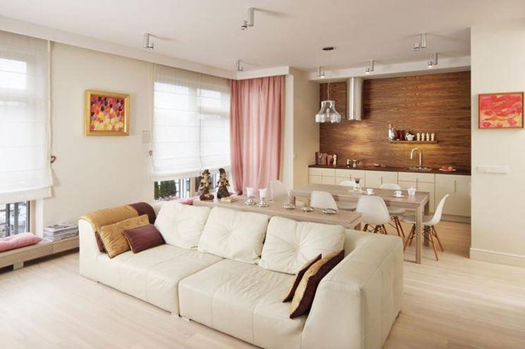 Angolo cottura in soggiorno cucina mobili varie soluzioni per