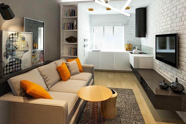 Angolo cottura in soggiorno cucina mobili varie for Soggiorno angolo cottura