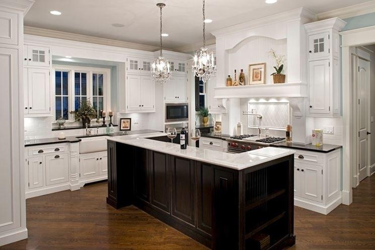 Cucina all\'americana - Cucina mobili - Tipologie cucina