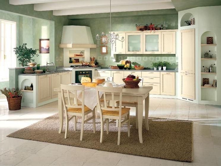 Cucina in muratura - Cucina mobili - Come realizzare cucina in muratura