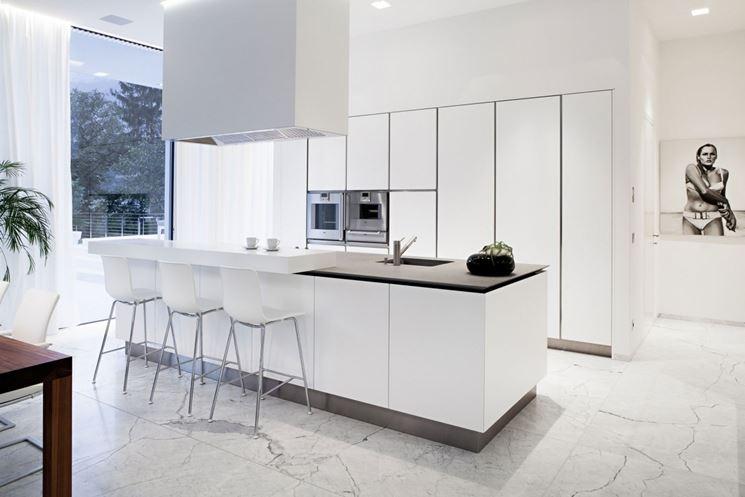 Esempio di cucina minimal