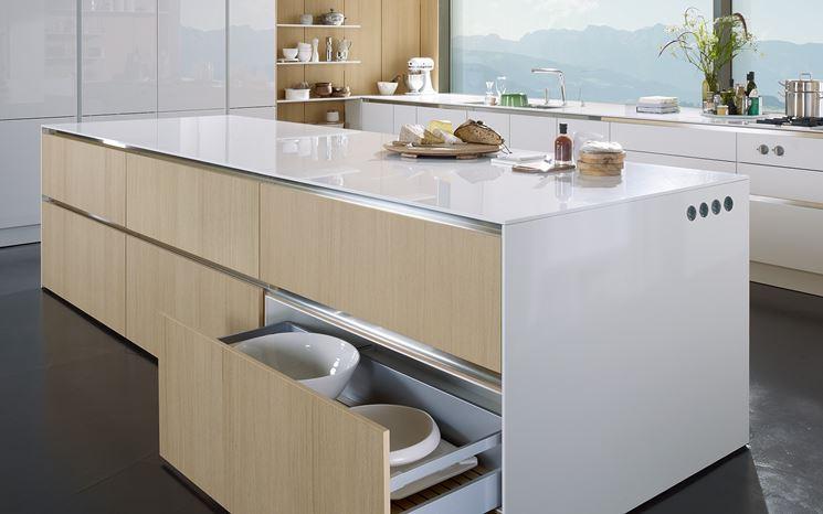 Cucina senza maniglie - Cucina mobili - Arredo cucina