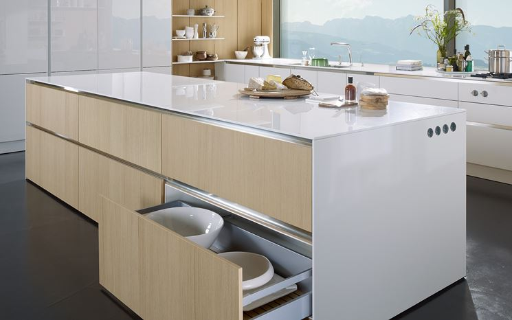 Cucina senza maniglie cucina mobili arredo cucina - Cucina senza piastrelle ...