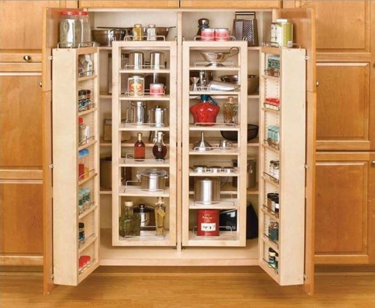 Esempio di cucine armadio