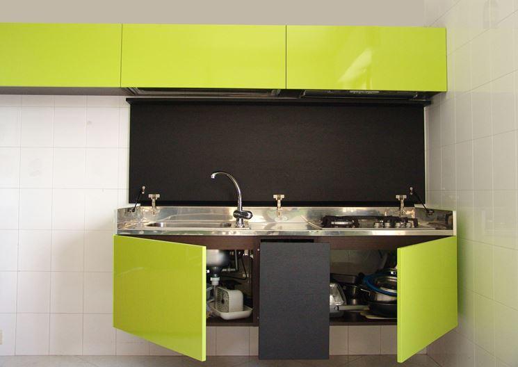 Mini Cucine Monoblocco. Awesome Beautiful Galleria Incredibile ...