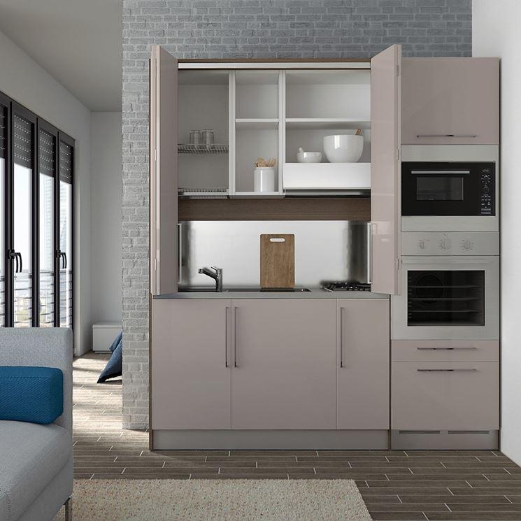 Cucine monoblocco cucina mobili funzionalit cucine monoblocco for Cucine gran casa