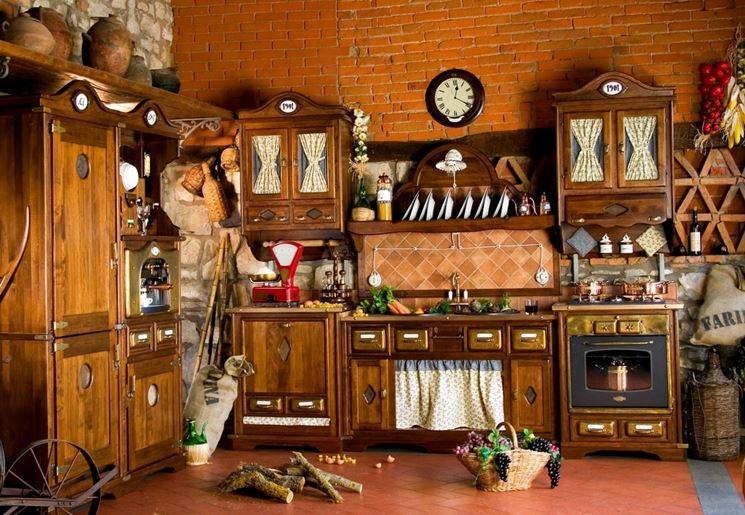 Arredamento cucina provenzale