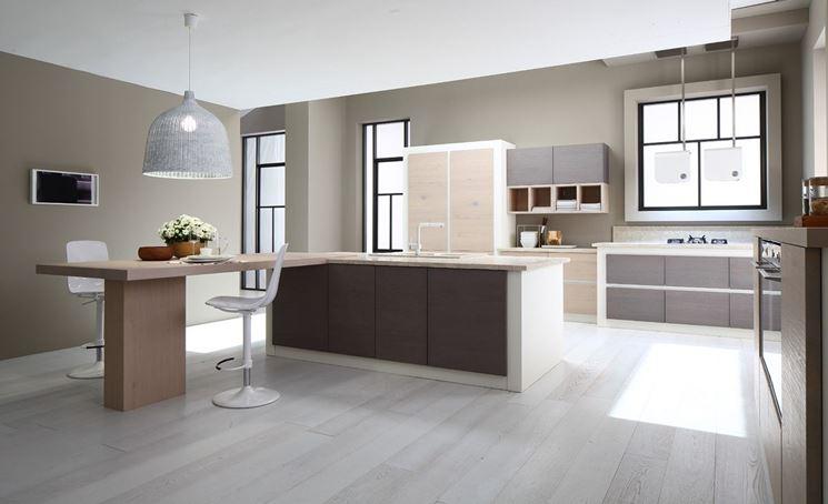 Esempio di cucina in muratura moderna