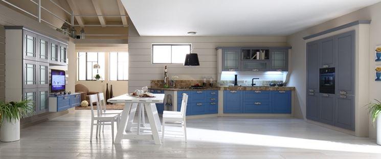 Tipologia di cucina in muratura moderna