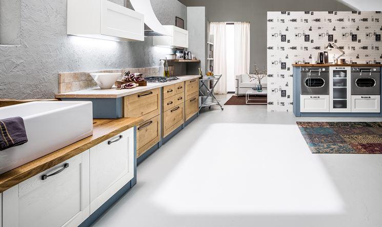Le cucine in muratura moderne cucina mobili modelli cucina - Strutture per cucine componibili ...