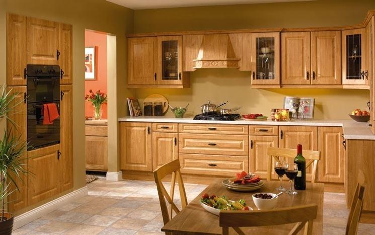 Mobili da cucina in legno massello