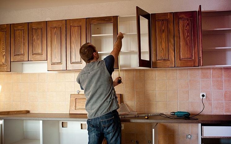Montaggio mobili da cucina