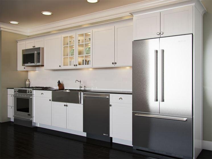 Cucina modulare monoparete