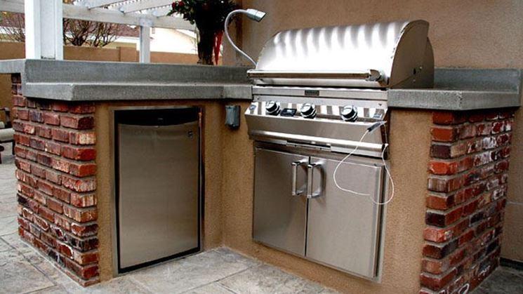 Pregi e caratteristiche delle cucine in muratura rustiche cucina mobili - Costo cucina in muratura ...