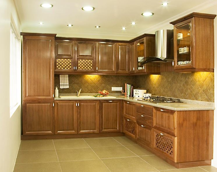 Cucina componibile in stile classico
