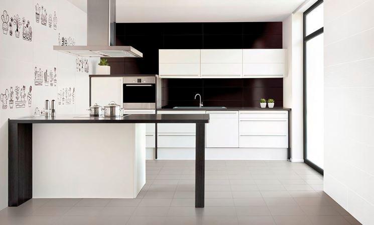 Rivestimento cucina moderna cucina mobili come rivestire pareti cucina moderna - Rivestimento cucina no piastrelle ...