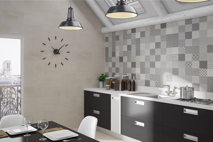 rivestimenti per cucine moderne in lapitec. piastrelle ...